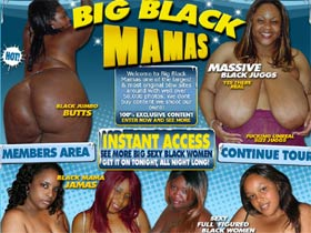 Welcome to Big Black Mamas - one of the largest & most original bbw sites!
