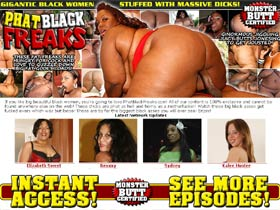 If you like big beautiful black women, you're going to love PhatBlackFreaks