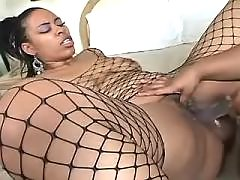 Fat ebony knows how to handle cock black chubby movies
