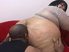 BBBW Farrah Gets Drilled Like a Dog