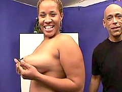 Fast and sweaty sex with fat cutie black chubby movies
