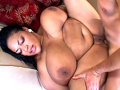 Black BBW hottie enjoying a white dick in her cunt black chubby movies