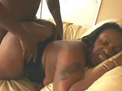 Black dude fucks fat ebony whore