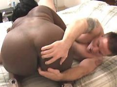 White guy fucks ardent fat ebony black chubby movies
