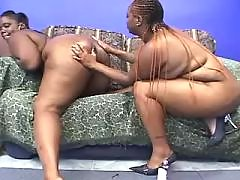 Stud takes care of big ebony chick black chubby movies