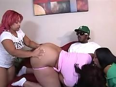 Steamy black bbw gets plugged hard black chubby movies